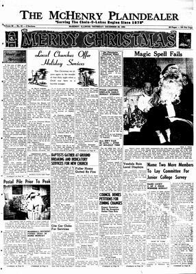 McHenry Plaindealer (McHenry, IL), 20 Dec 1962