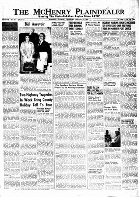 McHenry Plaindealer (McHenry, IL), 3 Jan 1963