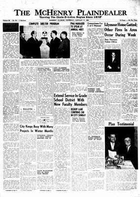 McHenry Plaindealer (McHenry, IL), 17 Jan 1963