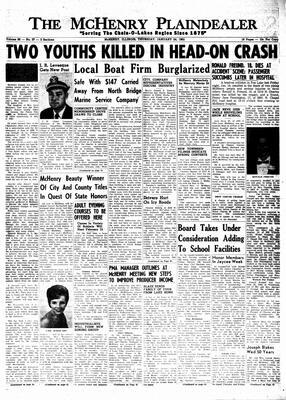 McHenry Plaindealer (McHenry, IL), 24 Jan 1963