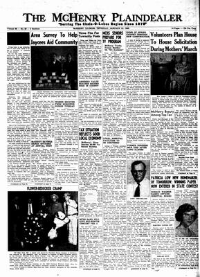 McHenry Plaindealer (McHenry, IL), 31 Jan 1963