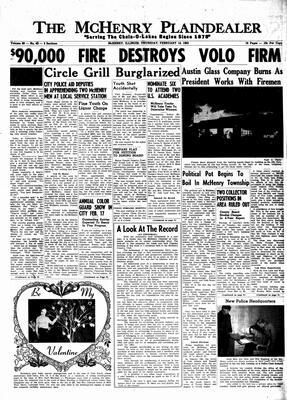 McHenry Plaindealer (McHenry, IL), 14 Feb 1963