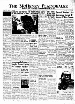 McHenry Plaindealer (McHenry, IL), 7 Mar 1963