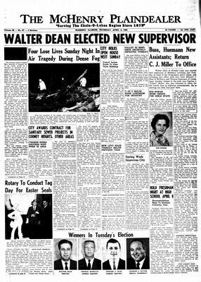 McHenry Plaindealer (McHenry, IL), 4 Apr 1963