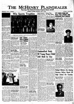 McHenry Plaindealer (McHenry, IL), 2 May 1963