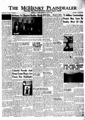 McHenry Plaindealer (McHenry, IL), 9 May 1963