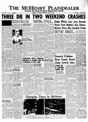 McHenry Plaindealer (McHenry, IL), 16 May 1963