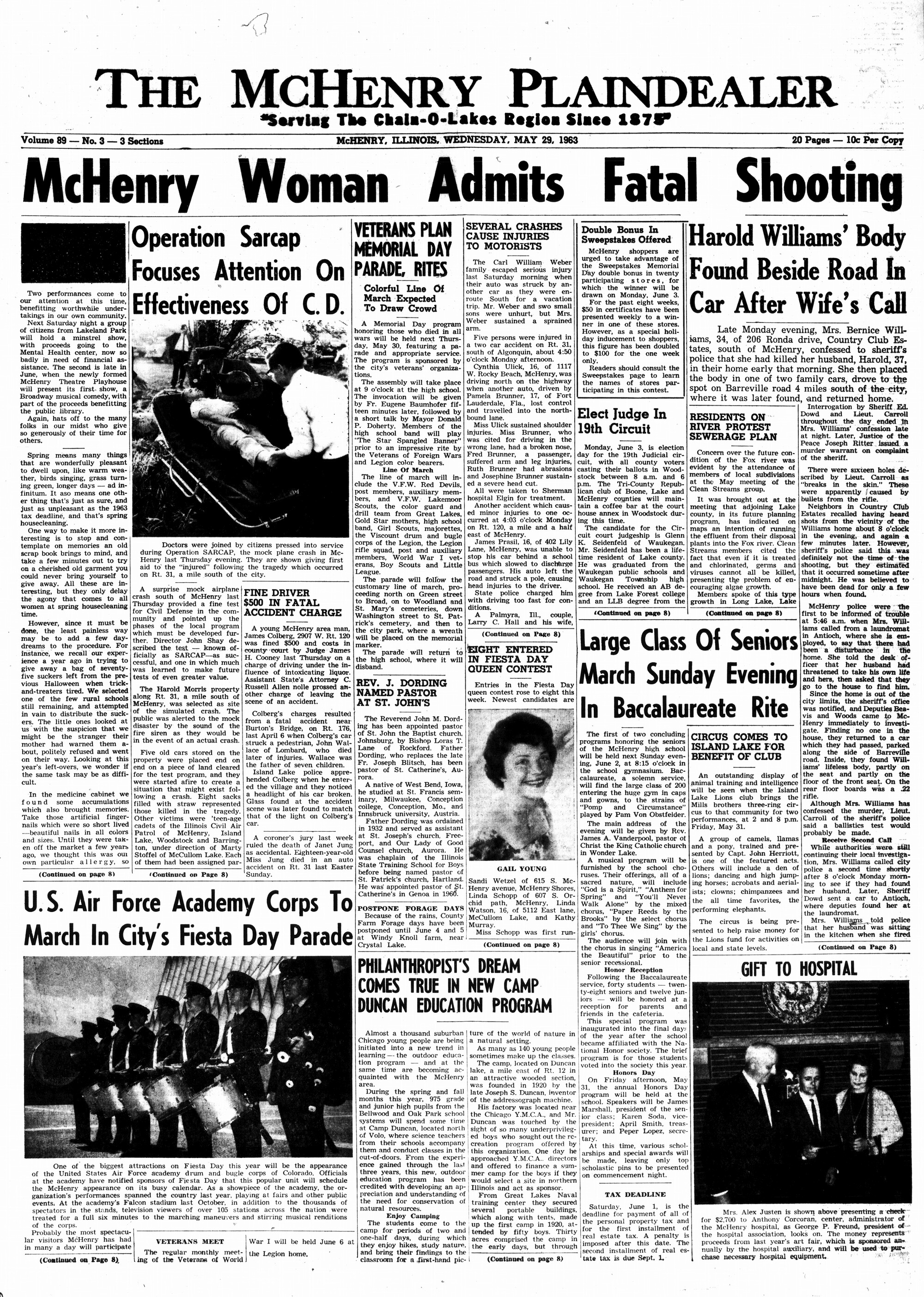 McHenry Plaindealer (McHenry, IL), 29 May 1963