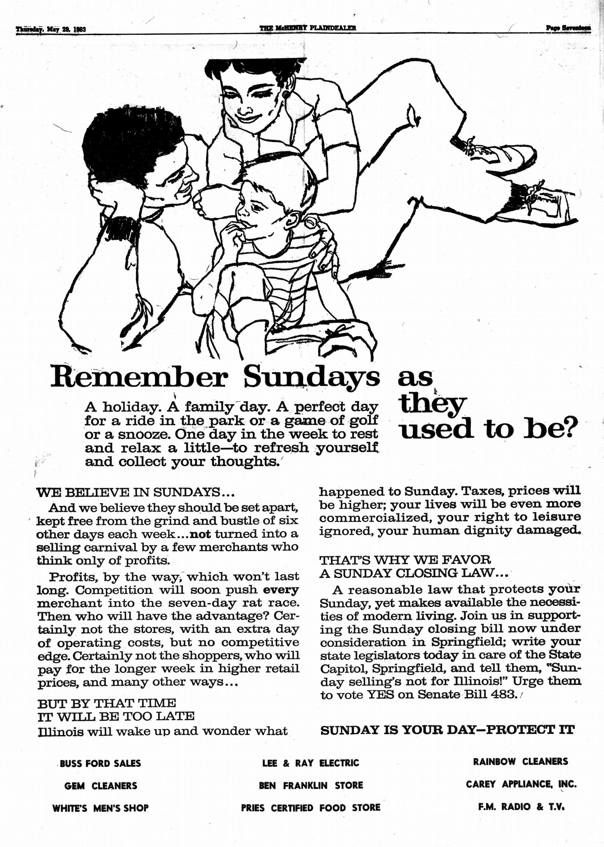 McHenry Plaindealer (McHenry, IL), 29 May 1963