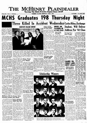 McHenry Plaindealer (McHenry, IL), 6 Jun 1963