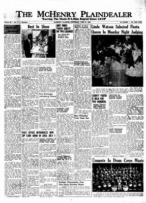 McHenry Plaindealer (McHenry, IL), 27 Jun 1963