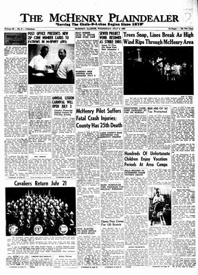 McHenry Plaindealer (McHenry, IL), 3 Jul 1963