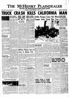 McHenry Plaindealer (McHenry, IL), 11 Jul 1963