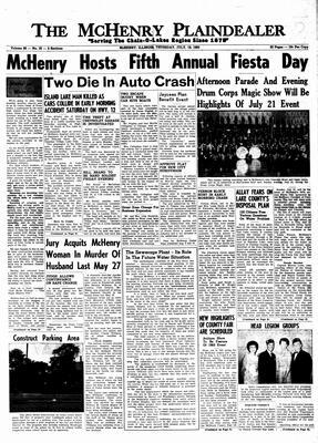 McHenry Plaindealer (McHenry, IL), 18 Jul 1963