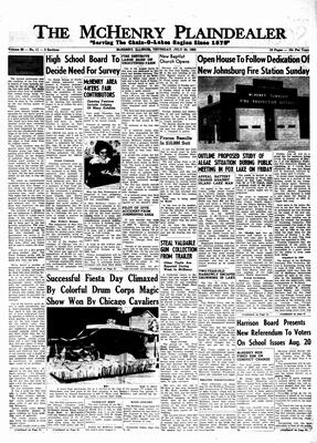 McHenry Plaindealer (McHenry, IL), 25 Jul 1963