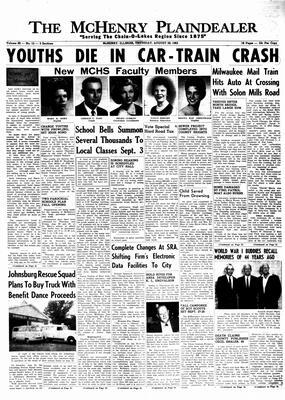McHenry Plaindealer (McHenry, IL), 29 Aug 1963
