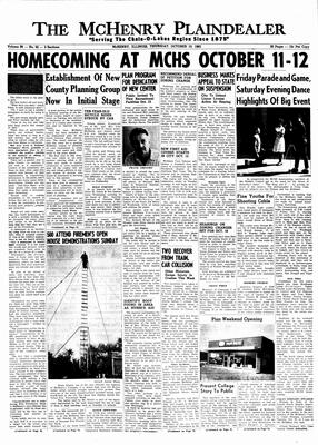 McHenry Plaindealer (McHenry, IL), 10 Oct 1963