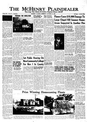 McHenry Plaindealer (McHenry, IL), 17 Oct 1963