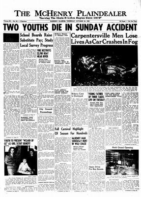 McHenry Plaindealer (McHenry, IL), 24 Oct 1963