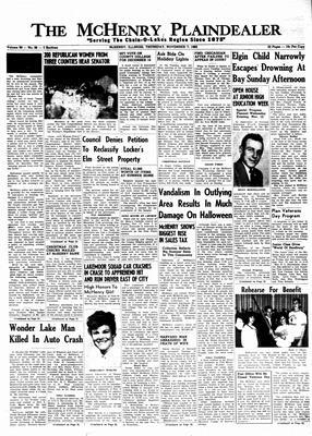 McHenry Plaindealer (McHenry, IL), 7 Nov 1963