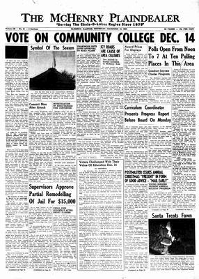 McHenry Plaindealer (McHenry, IL), 12 Dec 1963