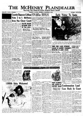 McHenry Plaindealer (McHenry, IL), 19 Dec 1963