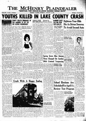 McHenry Plaindealer (McHenry, IL), 16 Jan 1964