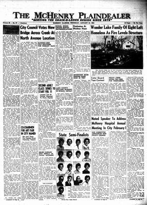 McHenry Plaindealer (McHenry, IL), 23 Jan 1964