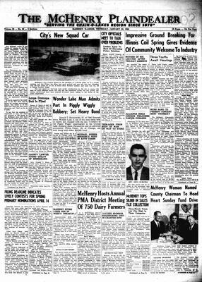 McHenry Plaindealer (McHenry, IL), 30 Jan 1964