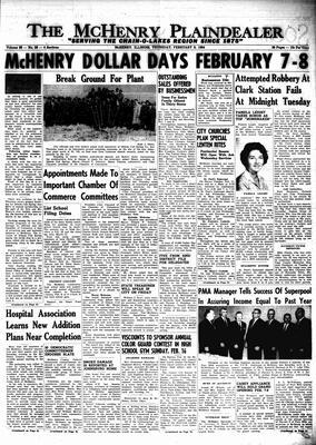 McHenry Plaindealer (McHenry, IL), 6 Feb 1964