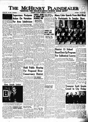 McHenry Plaindealer (McHenry, IL), 13 Feb 1964