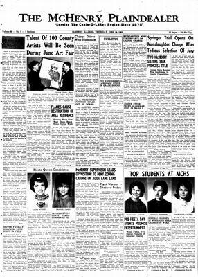 McHenry Plaindealer (McHenry, IL), 14 Jun 1962