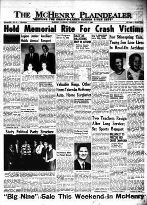 McHenry Plaindealer (McHenry, IL), 27 Feb 1964