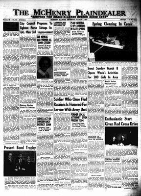 McHenry Plaindealer (McHenry, IL), 5 Mar 1964