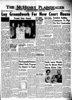 McHenry Plaindealer (McHenry, IL), 12 Mar 1964