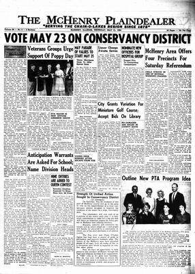 McHenry Plaindealer (McHenry, IL), 21 May 1964