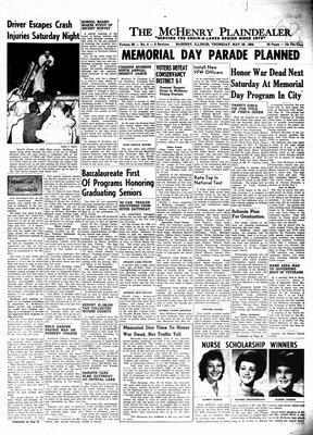 McHenry Plaindealer (McHenry, IL), 28 May 1964