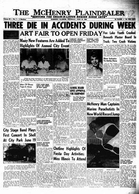 McHenry Plaindealer (McHenry, IL), 18 Jun 1964