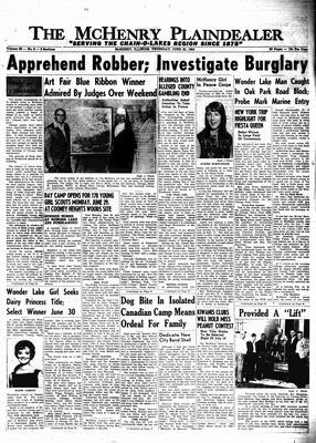 McHenry Plaindealer (McHenry, IL), 25 Jun 1964
