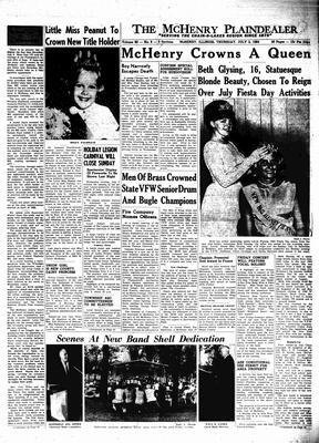 McHenry Plaindealer (McHenry, IL), 2 Jul 1964