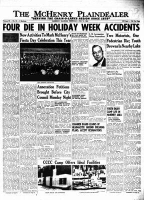 McHenry Plaindealer (McHenry, IL), 9 Jul 1964