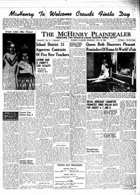 McHenry Plaindealer (McHenry, IL), 16 Jul 1964