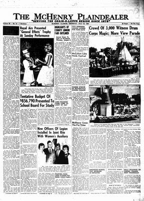 McHenry Plaindealer (McHenry, IL), 23 Jul 1964