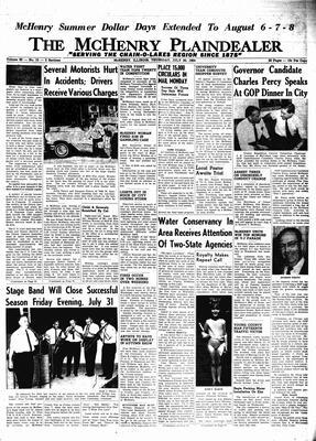 McHenry Plaindealer (McHenry, IL), 30 Jul 1964