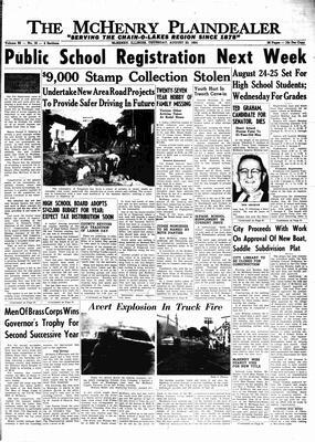 McHenry Plaindealer (McHenry, IL), 20 Aug 1964