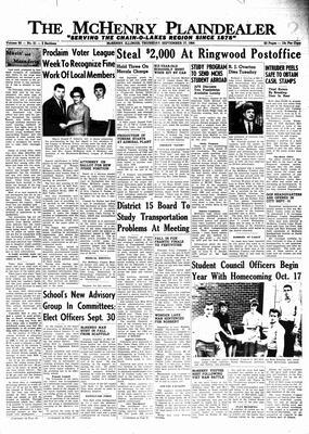 McHenry Plaindealer (McHenry, IL), 17 Sep 1964