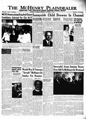 McHenry Plaindealer (McHenry, IL), 1 Oct 1964