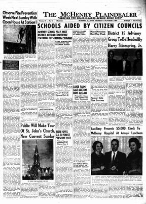 McHenry Plaindealer (McHenry, IL), 8 Oct 1964