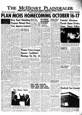 McHenry Plaindealer (McHenry, IL), 15 Oct 1964