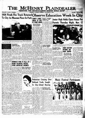 McHenry Plaindealer (McHenry, IL), 12 Nov 1964